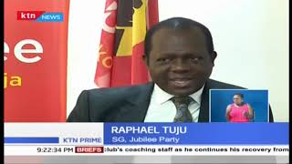 DP Ruto and Raphael Tuju at loggerheads