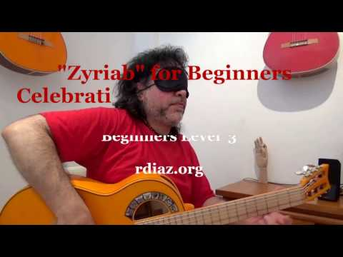 Zyryab from the scratch 1 /Celebrating 12,000 subscribers Ruben Diaz YouTube Channel/Paco de Lucia t