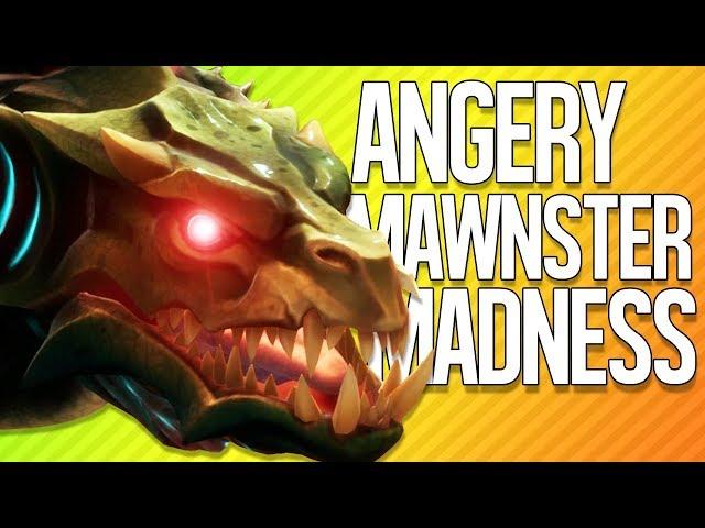 ANGERY MAWNSTER MADNESS   Dauntless