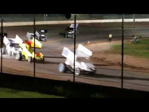 Rice Lake Speedway Sprint Car Feature 5/25/19