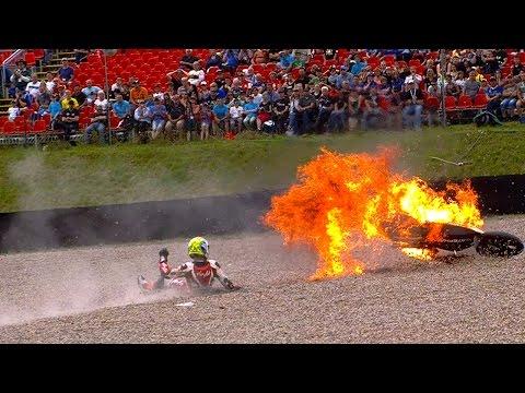 Moto2™ 2014 Biggest crashes