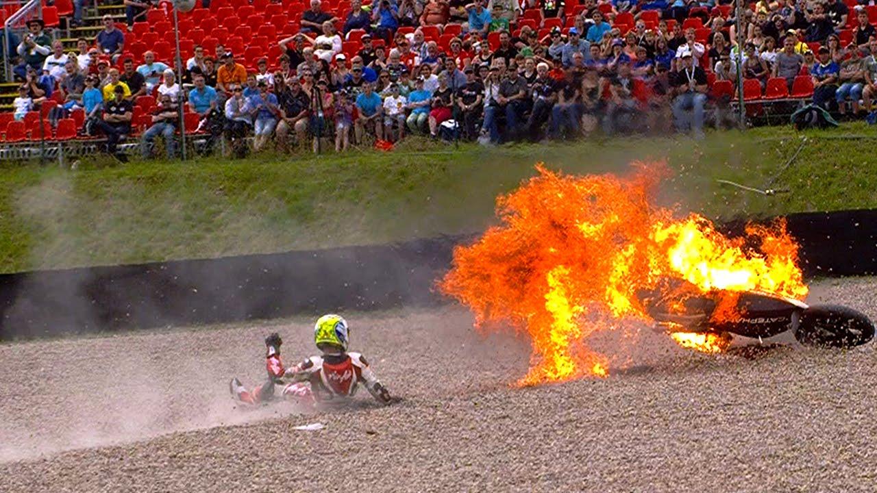 Moto2™ 2014 Biggest crashes - YouTube