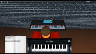 I'm Still Standing - Too Low for Zero by: Elton John on a ROBLOX piano.