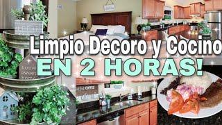 🟡RUTINA DE LIMPIEZA DE CASA 2020🏡LIMPIO  DECORO Y COCINO EN 2 HORAS😉🕓LIMPIA CONMIGO|Marcel Lopez