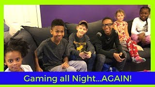 Up All Night GAMING Challenge - AGAIN!