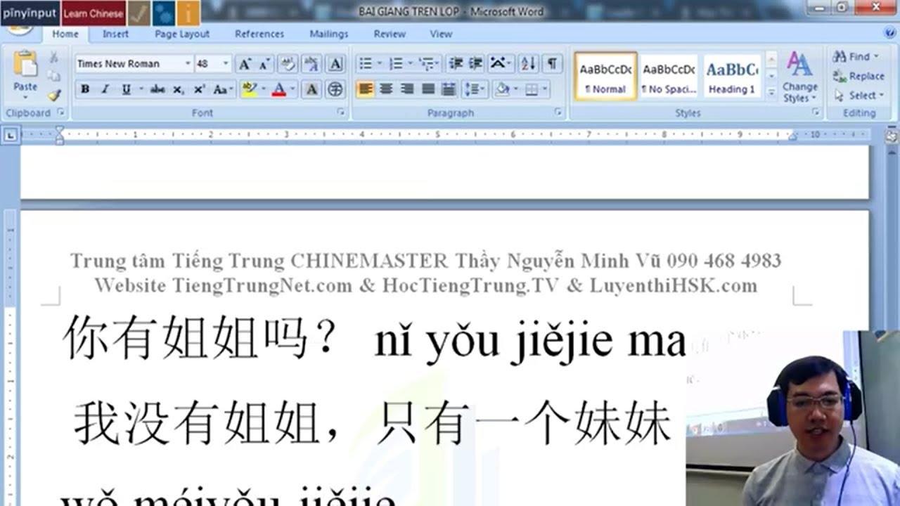 3000 Câu tiếng Trung giao tiếp Bài 9 PDF MP3 3000 câu đàm thoại tiếng Hoa MP3 Nguyễn Minh Vũ
