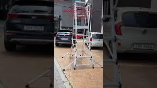 사다리마트 안전작업발판사다리