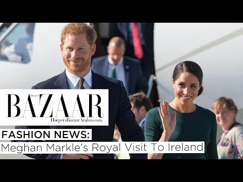 Fashion News: Meghan Markle's Royal Visit To Ireland