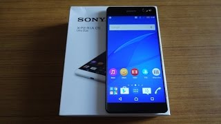 Sony Xperia C5 Ultra Unboxing