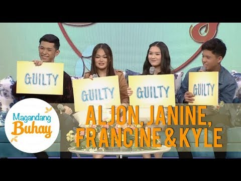 Magandang Buhay: Aljon, Janine, Francine and Kyle undergo the 'Guilty or Not Guilty' challenge