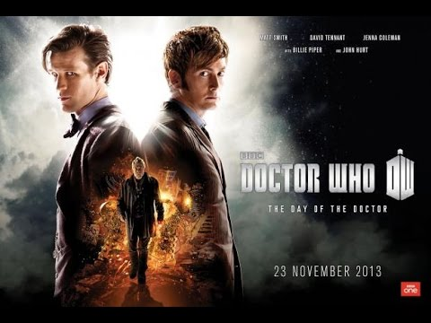 """Doctor Who: """"The Day of The Doctor"""" - 50th Anniversary Special Cinema Trailer"""