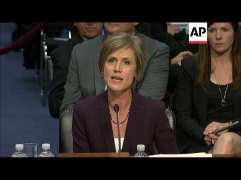 Yates: Warned White House on Flynn