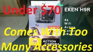 Eken H9R 4K Wifi Action Camera Unboxing and Overview