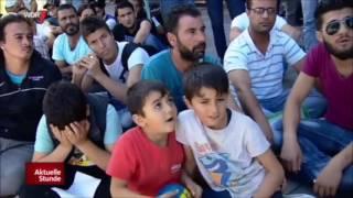 Asylanten protestieren in Gelsenkirchen