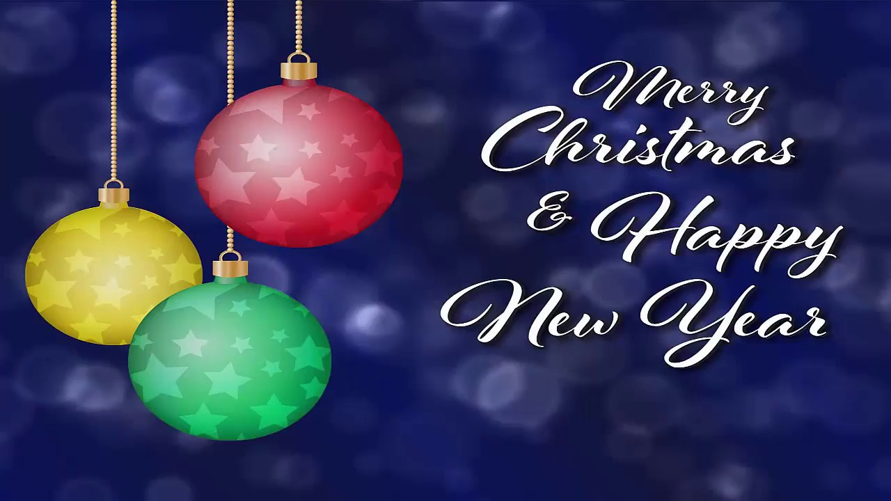 Merry Christmas And Happy New Year Greetings Messages Images