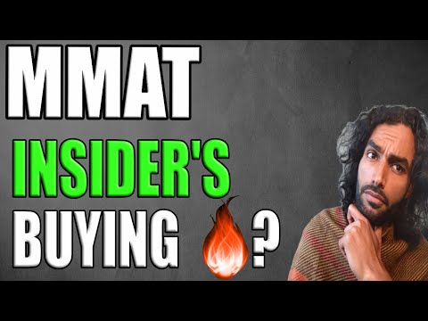 (MMAT) META 🔥 Insider's Buying signal $? 🔥 Is This it  💥👀?
