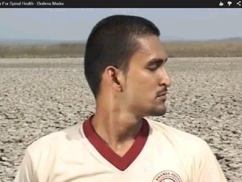 Yoga Mudras - Brahma Mudra - Relieves Neck & Shoulder