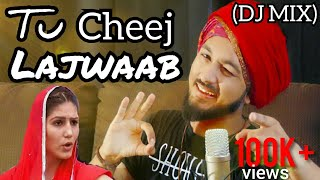 Tu Cheej Lajwaab | DJ MIX | Sapna Chaudhary Dance | Cover | Darpan Shah