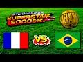 France vs Brazil - International Superstar Soccer Deluxe - Sega Genesis / Mega Drive HD