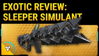 Destiny Taken King: Sleeper Simulant Exotic Review