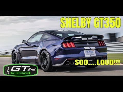 Shelby GT Exhaust sound