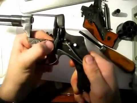 Сборка-разборка револьвера системы Наган