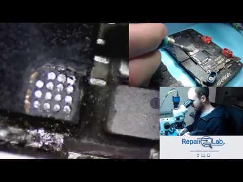 Scratching IPhone 6 CPU To Fix Error 9 Part 1