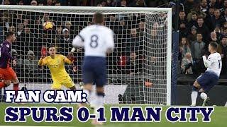 FAN CAM: Tottenham 0-1 Manchester City: Early Mahrez Goal Defeats Unlucky Spurs - 29 October 2018