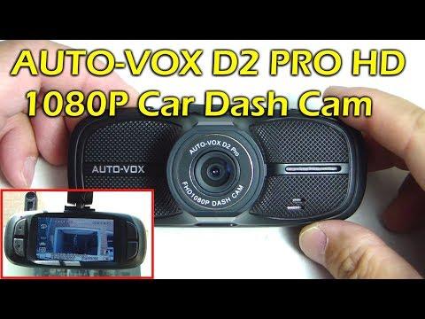 """AUTO-VOX D2 Pro 1080P HD 2.7"""" LCD Car Dash Cam"""