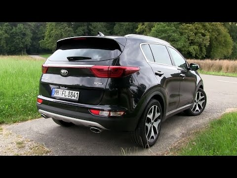 2016 KIA Sportage 2.0 CRDi 4WD (185 HP) TEST DRIVE