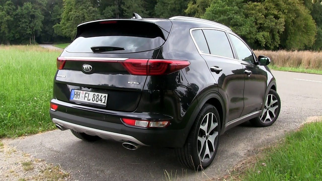 2016 kia sportage 2 0 crdi 4wd 185 hp test drive doovi. Black Bedroom Furniture Sets. Home Design Ideas