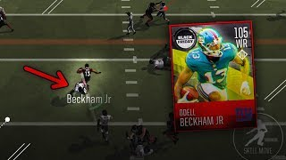 OMG HE HURDLED HIM! ODELL BECKHAM JR. 105 OVERALL GAMEPLAY!