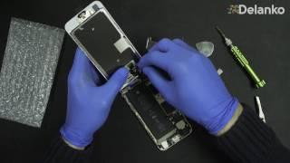 видео Замена дисплейного модуля iPhone 6