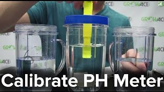 GrowAce.com - How to Calibrate Your PH Meter for Hydroponics and Nutrients(Adjusting your PH Meters for correct readings are very important. This is a step by step video on how to correctly calibrate your PH Meter. This ensures accurate ..., 2013-06-27T21:47:32.000Z)