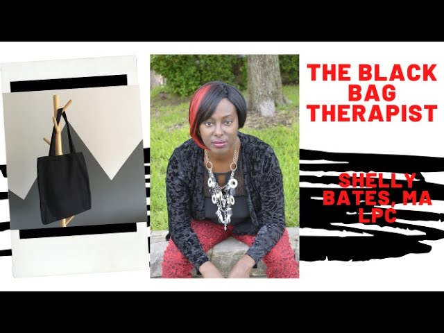 "Introducing My Youtube Page featuring the ""Black Bag Therapist"""