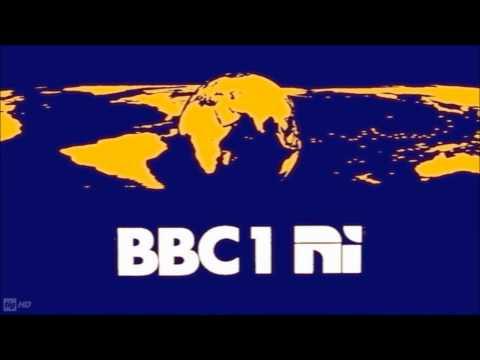 BBC 90 Years in Northern Ireland BBC One mirror globe symbol  ident