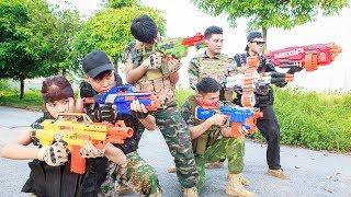 LTT Nerf War : SEAL X Warriors Nerf Guns Fight Criminal Group Avengeful Best Friend