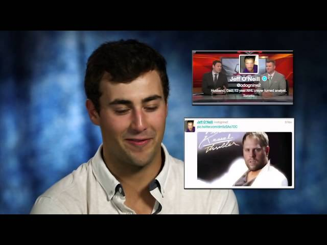 NHL stars reveal who they follow on twitter?