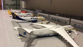 JFK 1:400 model airport 09:30am-10:00am update
