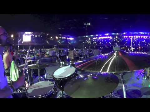 Rockin1000 THAT'S LIVE- Bittersweet Symphony - The Verve (GoPro View Point)