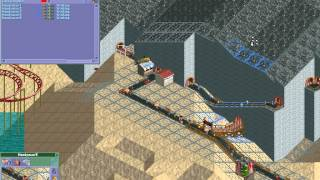 Rollercoaster Tycoon Loopy Landscapes #15 (Volcania: Cash Coaster)