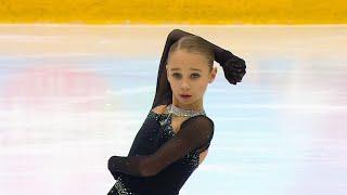 Вероника Жилина Короткая программа Девушки Кубок России 2020 21 Четвертый этап