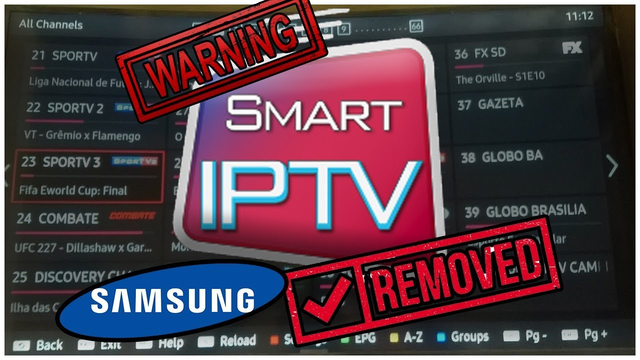 WARNING Samsung Removes SMART IPTV DO NOT REST YOUR TV!!!! - Husham