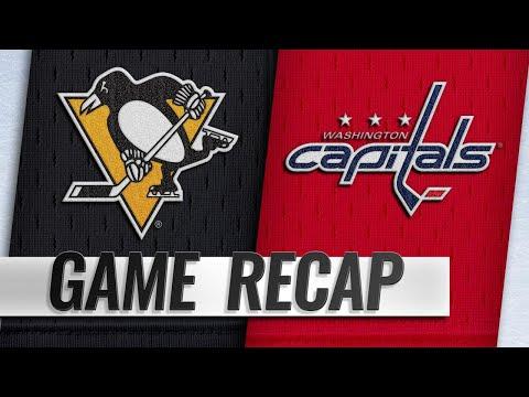 Crosby, Rust score as Penguins edge Capitals