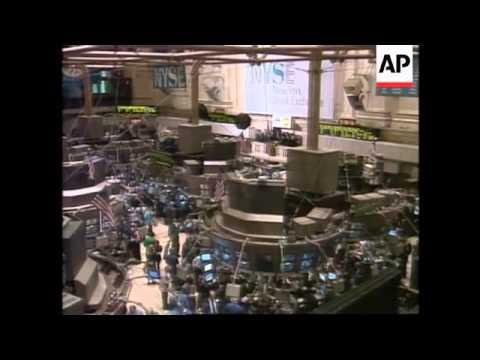 USA - Panic Selling At The Stock Exchange