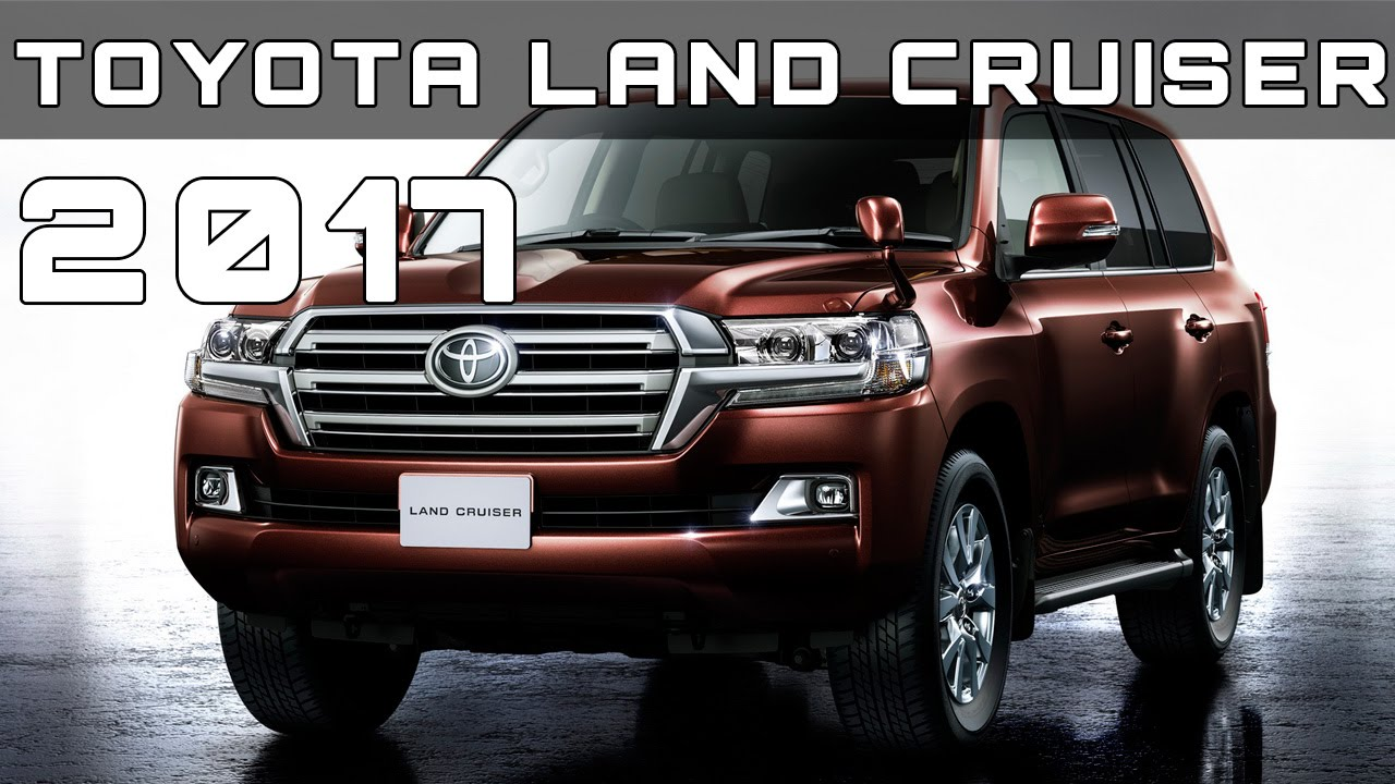 Good 2017 Toyota Land Cruiser Review Rendered Price Specs Release Date
