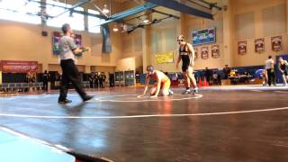 Roger from Northview- Varsity Winter Duals 2012/ Match #1