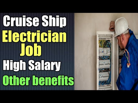 How to apply electrician job on cruise ship