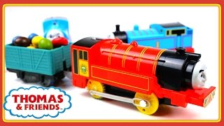 Trains for children video Thomas and Friends Victor Toy Train Review in Stop Motion Thomas Train