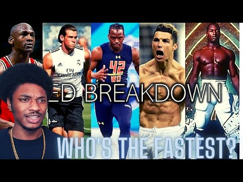 The All-Time Fastest Athletes In EVERY Major Sport Reaction!!!